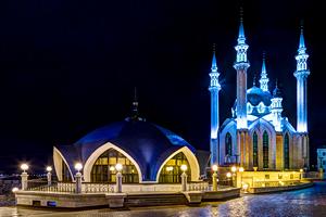 The Qolsharif Mosque of Kazan Kremlin, Kazan, Tatarstan, Russia